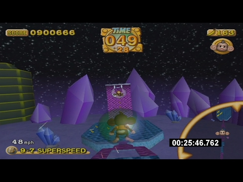 Super Monkey Ball 2 Custom Story Mode Speedrun in 29:40