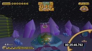 Super Monkey Ball 2 Custom Story Mode Speedrun in 29:40