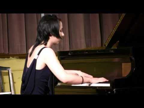 Tania Stavreva piano, Boston Conservatory of Music: Ginastera Sonata #1