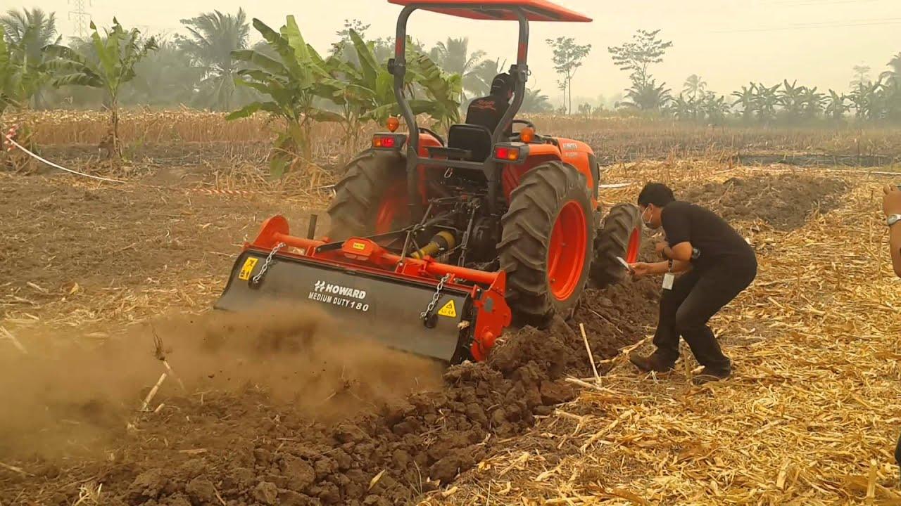 jual mesin pertanian modern  bajak rotary