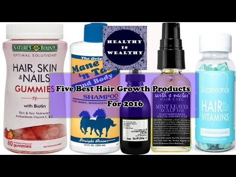 Five best hair growth Supplements for 2017 | Hair growth products for 2017