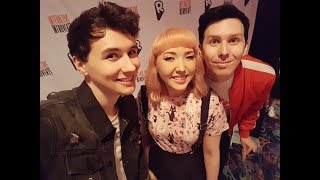 meeting dan and phil (and telling them i made the ladydoor remix)