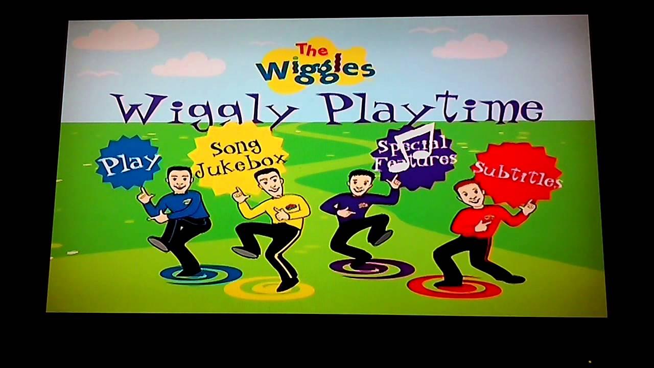 The Wiggles Wiggly Playtime DVD Menu Walkthrough - YouTube