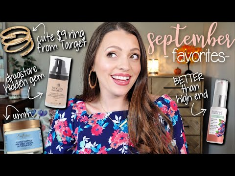 SEPTEMBER FAVORITES // Some drugstore gems + lifestyle faves! thumbnail