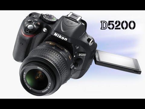 Nikon D5200 24 1 Mp Cmos Digital Slr With 18 55mm Lens Youtube