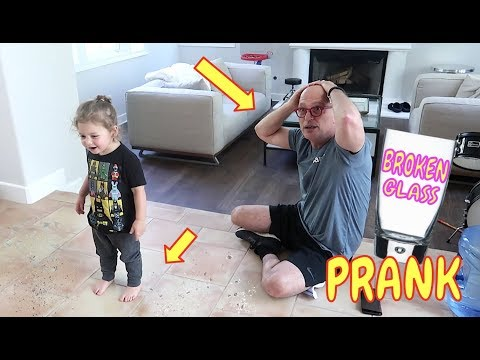 BROKEN GLASS PRANK | HOWIE MANDEL | LIFE WITH JACKIE FAMILY VLOGS