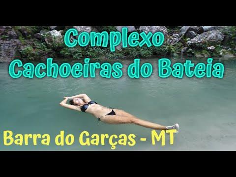 BARRA DO GARÇAS - Complexo Cachoeiras do BATEIA - Mato Grosso (Aéreas Drone)