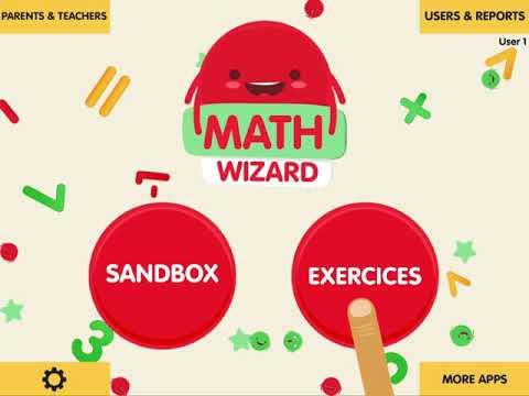 Math Wizard for Kids - iPad & iPhone