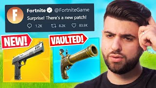Epic's SECRET Patch Unvaults The Hand Cannon!