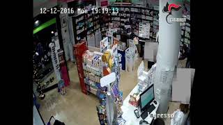 Rapine seriali farmacie, due arresti dei Carabinieri