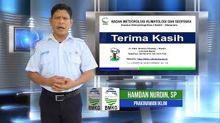 Analisis Curah Hujan Bulan September 2016 Dan Prakiraan Curah Hujan 3 Bulan Ke Depan Prov. NTB