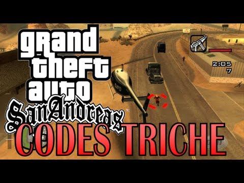 Tuto: Les codes triche dans GTA San Andreas - Tibo - XtraGameX