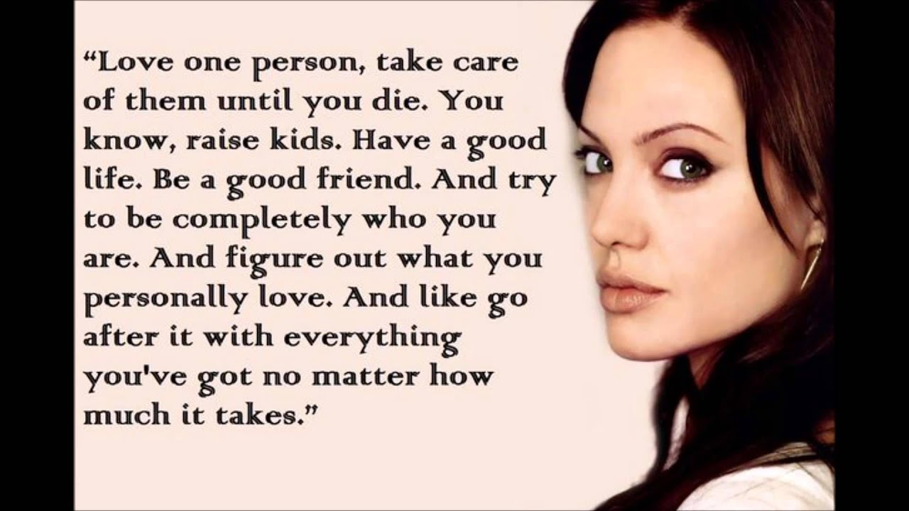 Quotes by Angelina Jolie