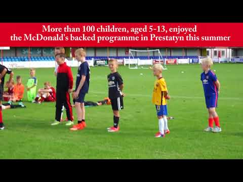 McDonald's Fun Football Camp - Prestatyn Town