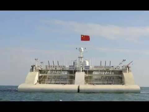 China installing world's biggest wave farm machine