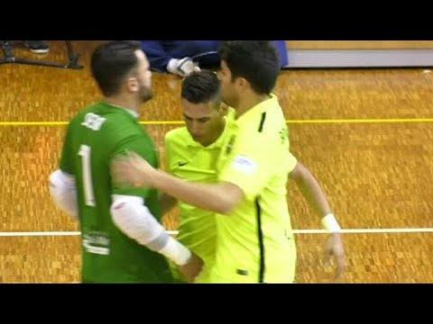 La volea bestial de Sergio Lozano, entre los mejores goles de la jornada de la LNFS