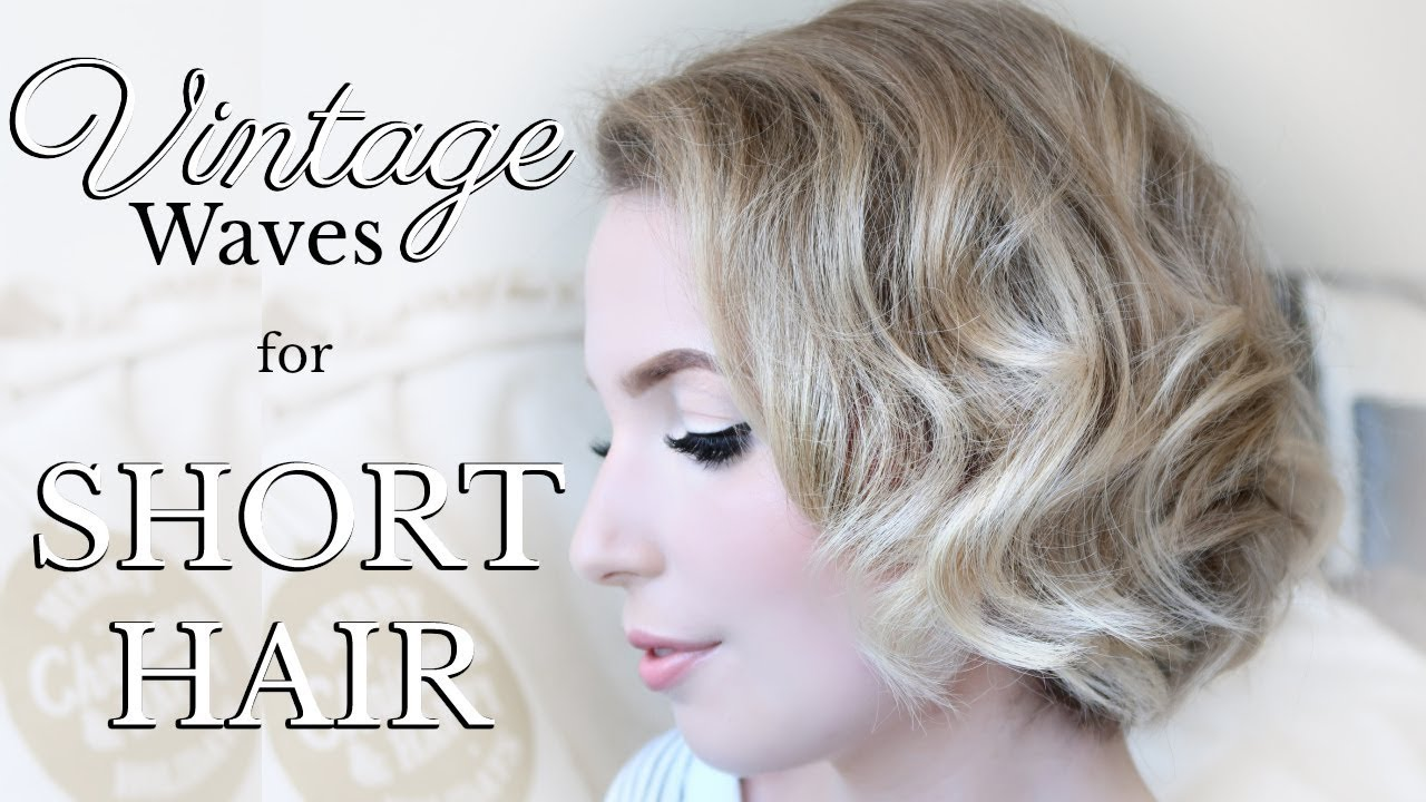 Styling Short Hair Easy Vintage Curls For A Chin Length Bob Ghd