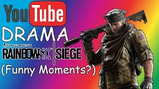 YOUTUBE DRAMA AND DAD JOKES!- Rainbow Six Siege (Funny Moments?)