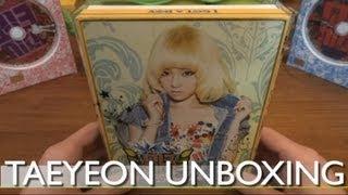 Unboxing I GOT A BOY TaeYeon Version