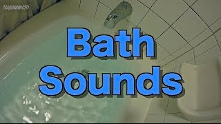 Repeat youtube video [4K] Running Bath Sounds | 2 Hours of Running Bathwater / Bath Filling / Water Sounds