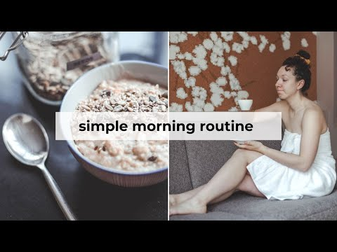 My *work from home* morning routine » productive & healthy