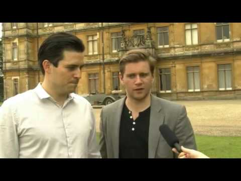 Allen Leech and Rob James-Collier │Hey, Brother