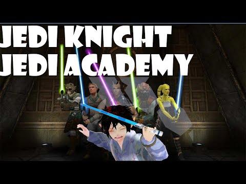 I go to Jedi school (Jedi Knight Jedi Academy) |