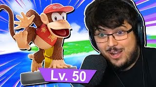 Pro Player Trains INVINCIBLE Diddy Kong Amiibo