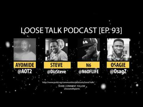 N6 Talks Beef with M.I and the Rise Of Indigenous Rap Music | #LooseTalkPodcast EP. 93