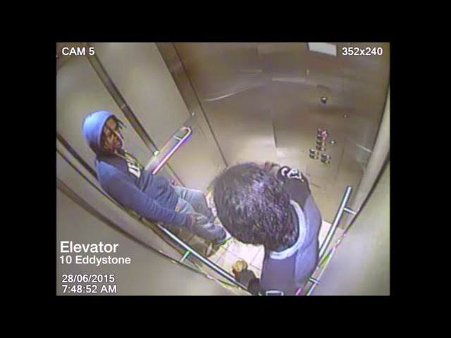 A Superior Court jury watched elevator surveillance video Wednesday showing an accused killer allegedly re-enacting a double murder committed less than an hour before in downtown Toronto. The video shows Kamal Hassan and Kwasi Skene-Peters alone in a highrise apartment elevator at 10 Eddystone Ave., in northwest Toronto, about an hour after two men were gunned down inside a downtown short-term rental condo.