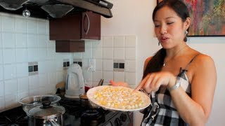 rice balls in coconut milk bua loy hot thai kitchen vloggest