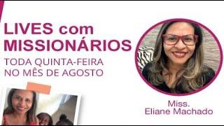 Missões em Angola - Missionária Eliane Machado