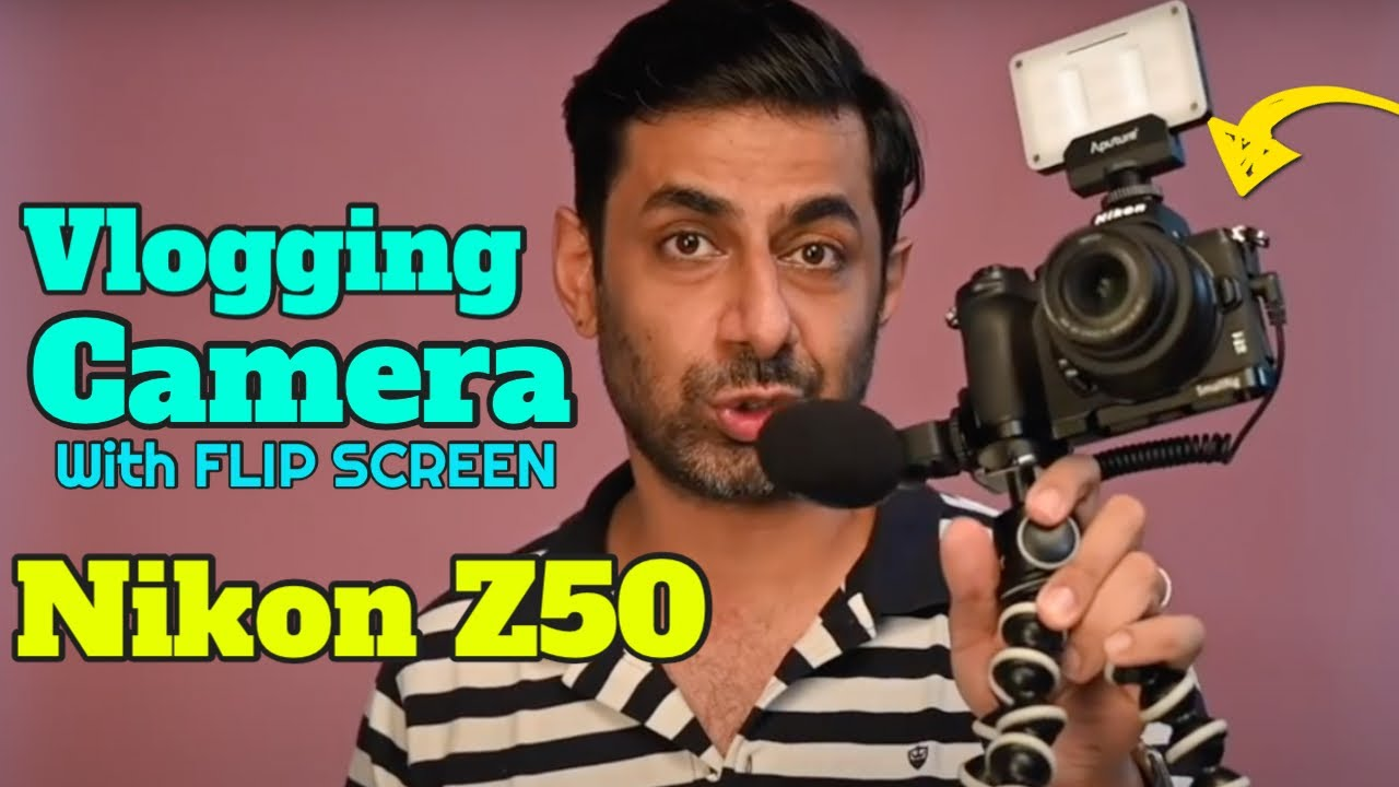 Nikon Z50 Camera Review   Vlogging Camera For Beginners Flip Screen   Best Camera for Youtube Video