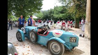 Rally Raid Gstaad-Cannes visit to Chateau Robernier (photos)