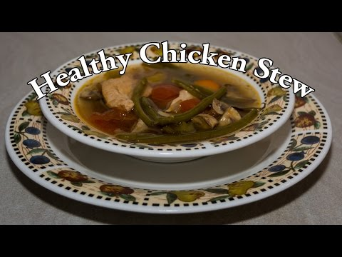 Easy & Healthy Slow Cooker Chicken Stew - Meal Prep Recipe # 2