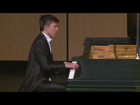 Jiang Jie Fei plays Mozart Piano Sonata No.13 Mov.I with Mason & Hamlin CC-1