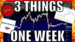 The Stock Market Is Going To BE CRAZY Next Week – My Watchlist – NFLX & BAC Earnings + Trade Deal
