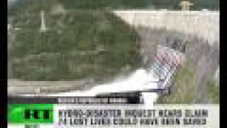 Horror Footage: CCTV cameras catch dam burst
