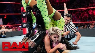 Natalya vs. Naomi vs. Carmella vs. Alexa Bliss: Raw, July 15, 2019