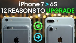 iPhone 7 vs 6S - 12 Reasons To Upgrade To iPhone 7!