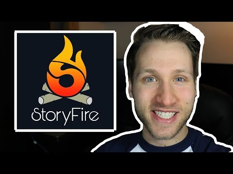 StoryFire: A Group-Storytelling App