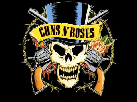 Guns N Roses tribute to ACDC- i love rock and roll