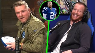 Pat McAfee & Carson Wentz Talk Face To Face For The First Time: Full Interview