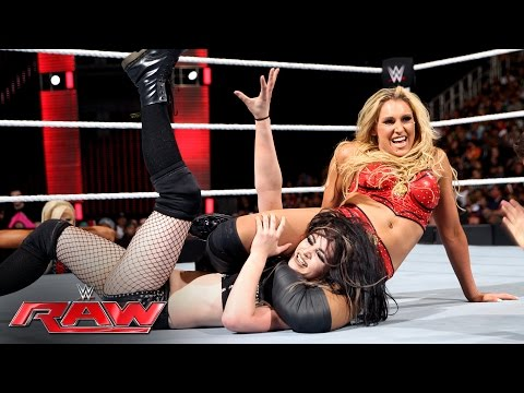 Paige vs. Charlotte - WWE Women's Championship Match: Raw, June 20, 2016