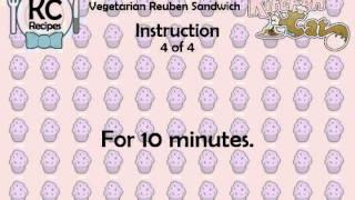 Vegetarian Reuben Sandwich - Kitchen Cat