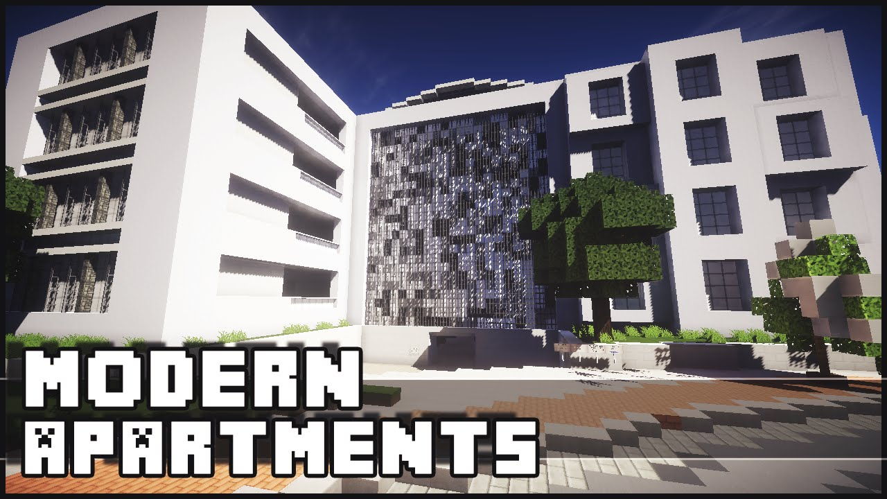 Charmant Minecraft   Modern Apartment U0026 Office Complex   YouTube