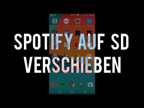 spotify auf sd karte verschieben Spotify auf die SD Karte verschieben auf Android   YouTube