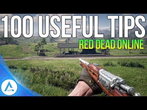 100 Red Dead Online Tips - RDR2 Tips & Tricks For Beginners
