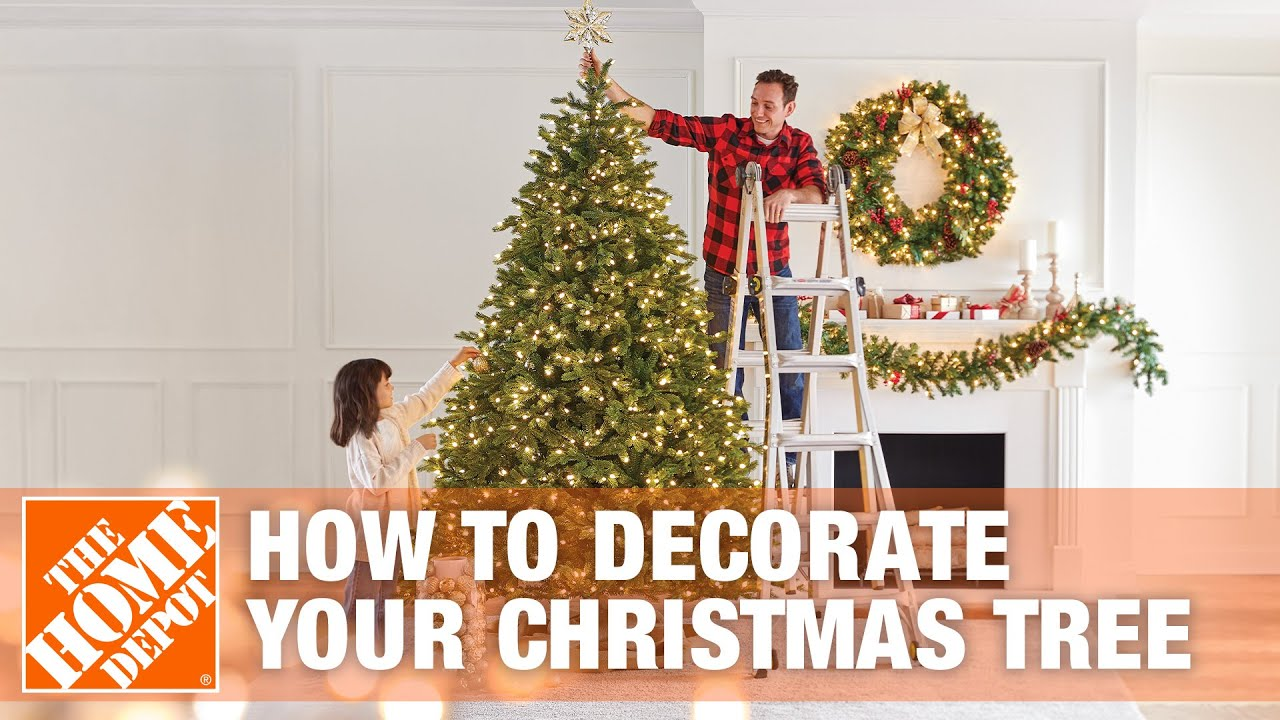 How to Decorate Your Christmas Tree | The Home Depot - YouTube