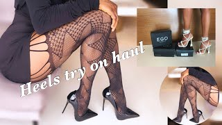 AFFORDABLE HIGH HEELS TRY ON H…